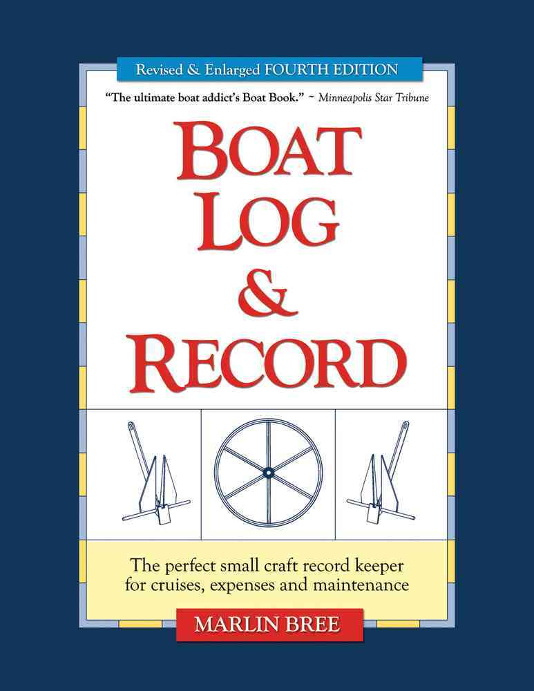 Boat Log & Record By Bree, Marlin